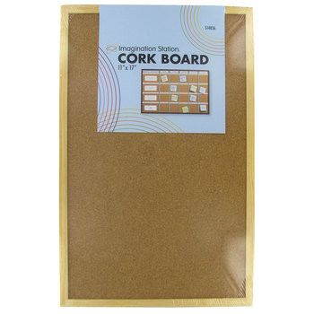 Corkboard With Wood Frame